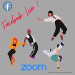 image promo facebook live et zoom des cours Juste Dance Clamart
