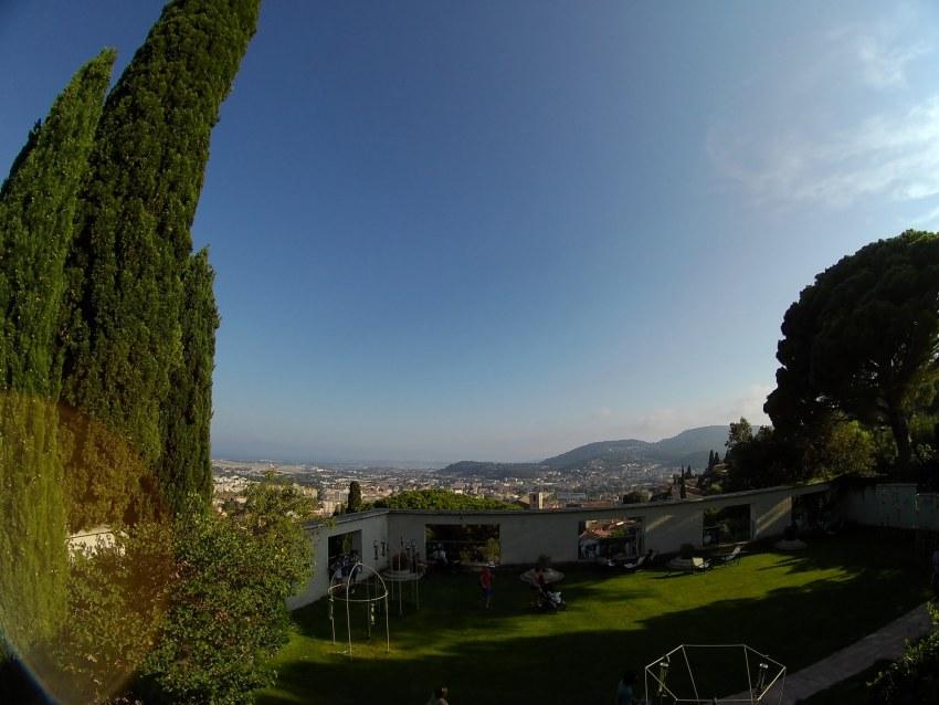 Point de vue de la Villa Noailles