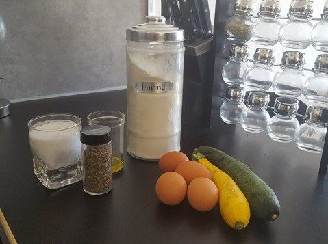 recette flan de courgette