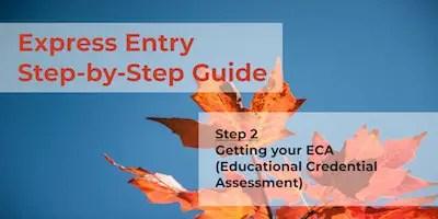 Express Entry Guide - Step 2 - ECA