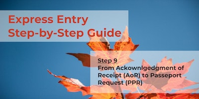 Express Entry Guide - Step 9 - AOR to PPR