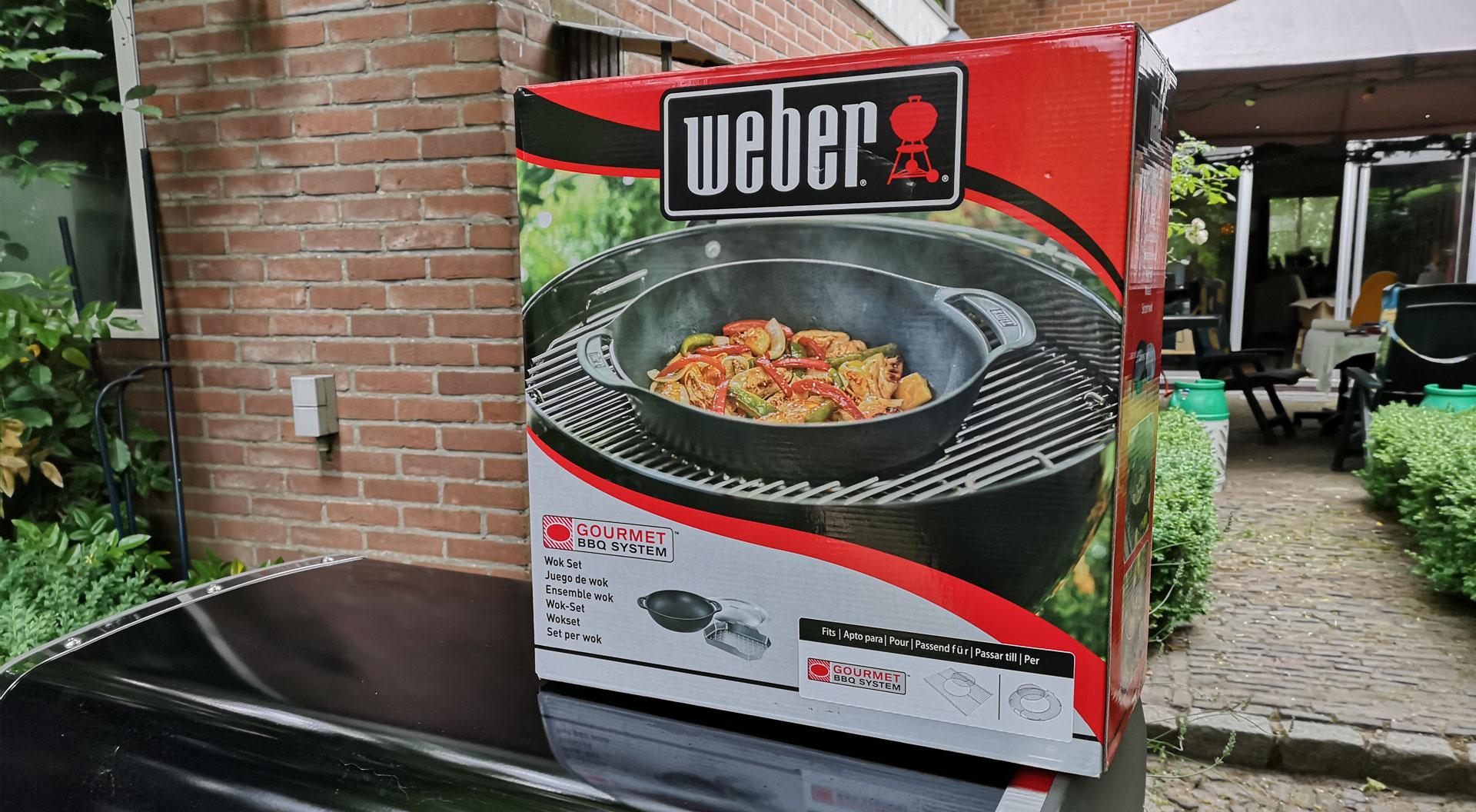 Wokset met stoomrek | Bereiden | Gourmet BBQ system