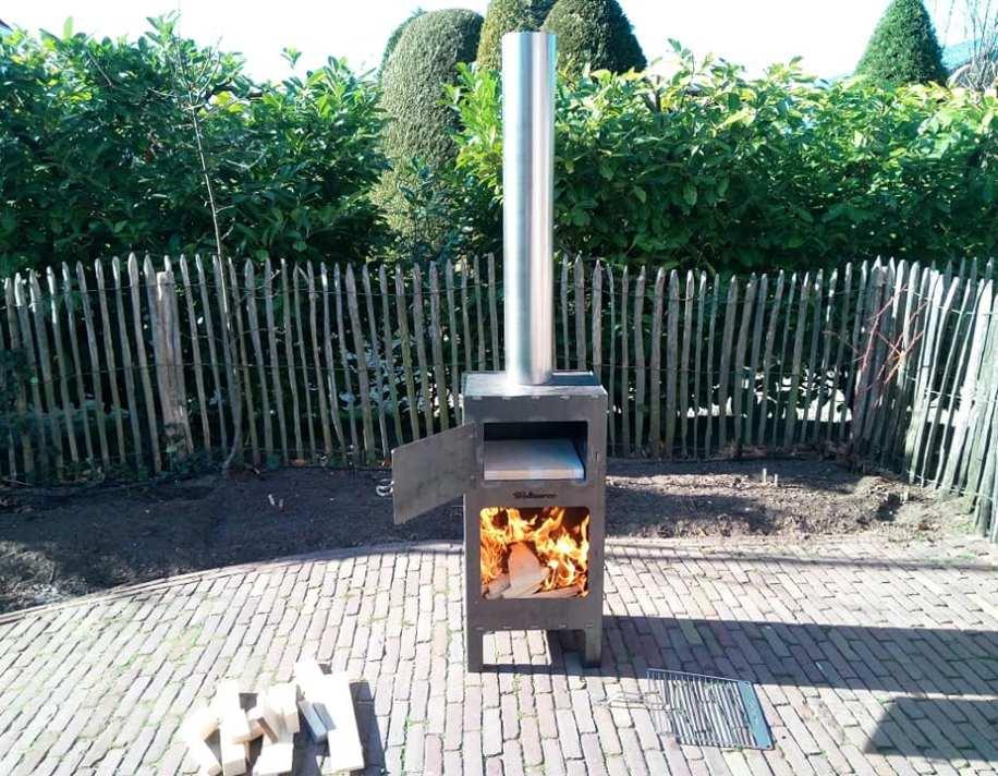 Ongebruikt Review: Weltevree Outdoor Oven (Pizza-oven, kachel & BBQ) - YZ-09