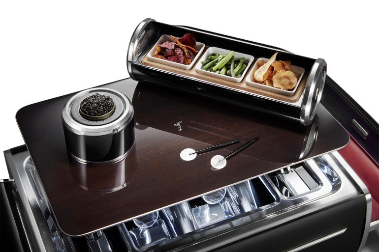 Rolls-Royce Champagne Chest Snacks