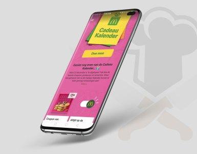 McDonalds App op Samsung Galaxy S10
