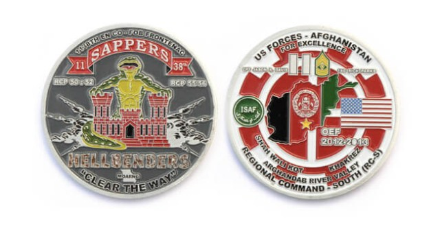 customizing challenge coins