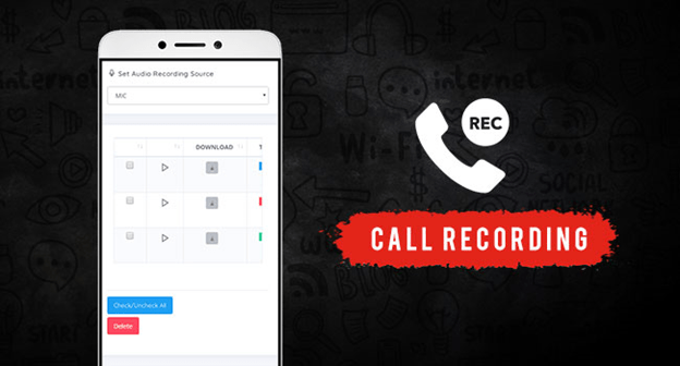 How can I record my kid's mobile calls?