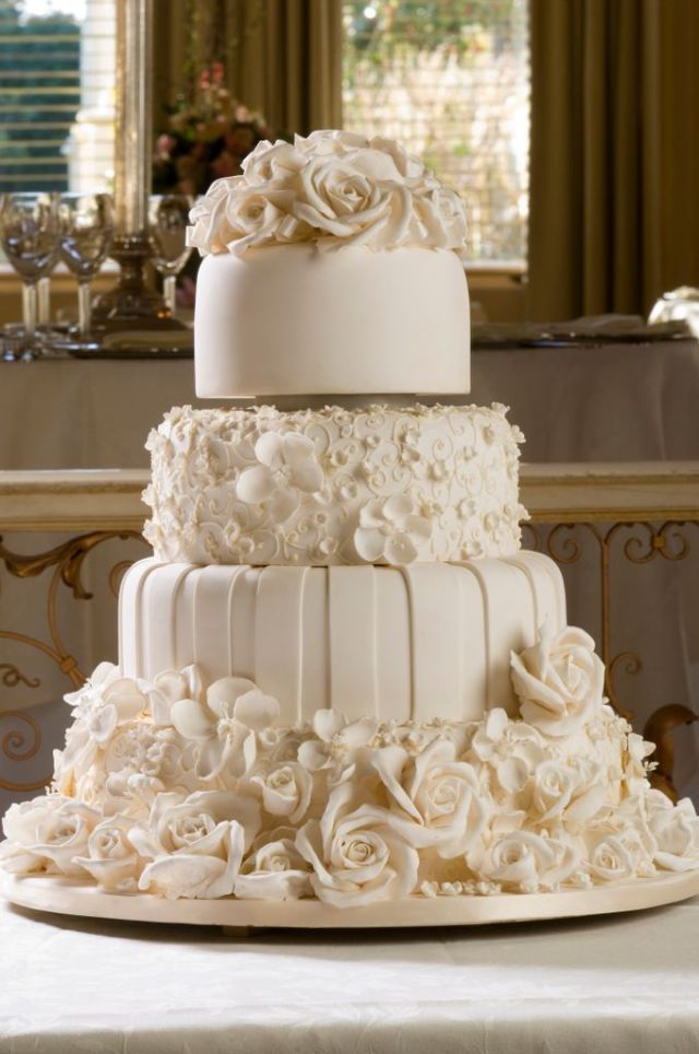 The way to find the perfect wedding cake