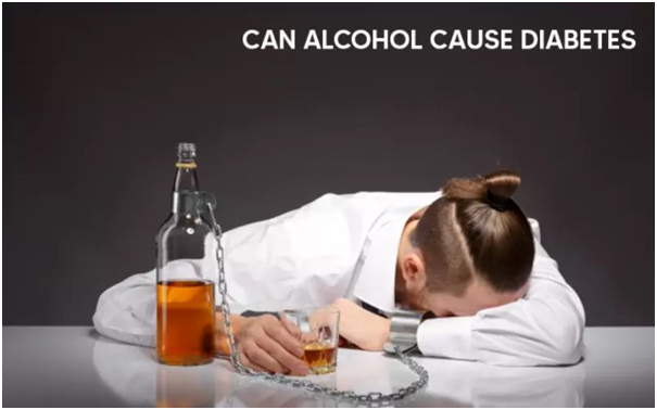 Can alcohol cause Diabetes