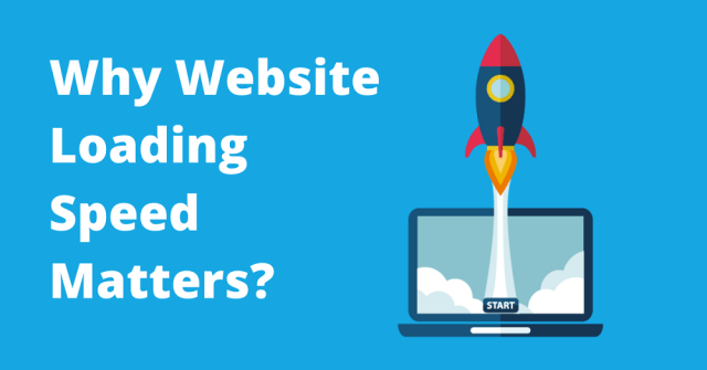 Why website loading speed matters?