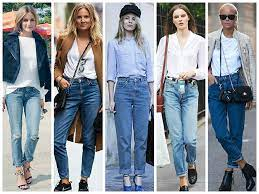 Five ways to wear denim jeans in a different style.