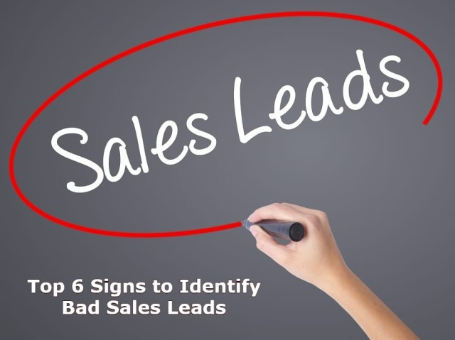 How To Identify Bad Sales Leads?