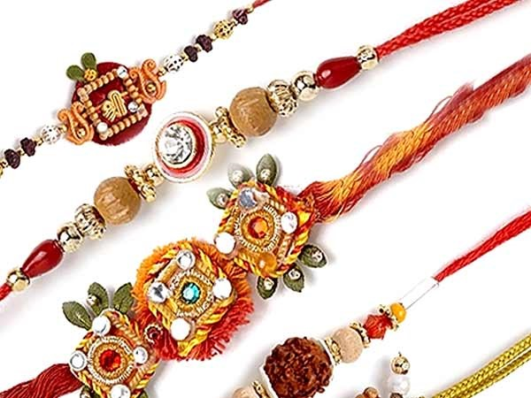 10 different types of Rakhis, along with their meaning.