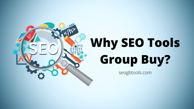 Why SEO Tools Group Buy?