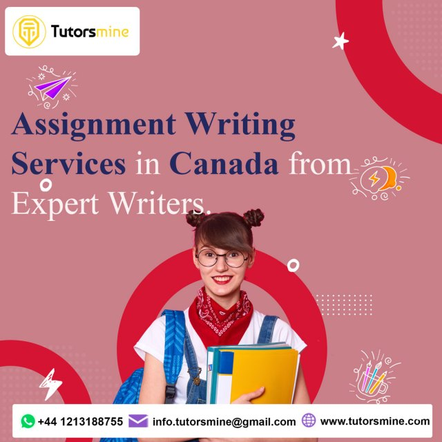 ASSIGNMENT WRITING SERVICES IN CANADA FROM EXPERT WRITERS