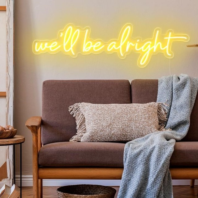 Decorate Your Home Wall with Neon Lights!