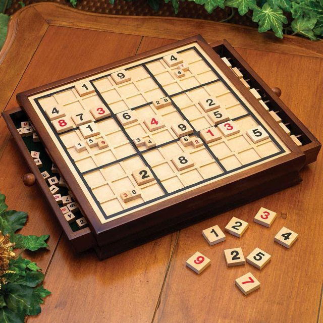 Sudoku Game Board; The Best Toy For Cognitive Nourishment Of The Children