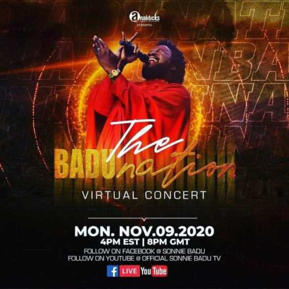The-BADUnation-virtual-concert [Music + Video] Stand By Me - Sonnie Badu