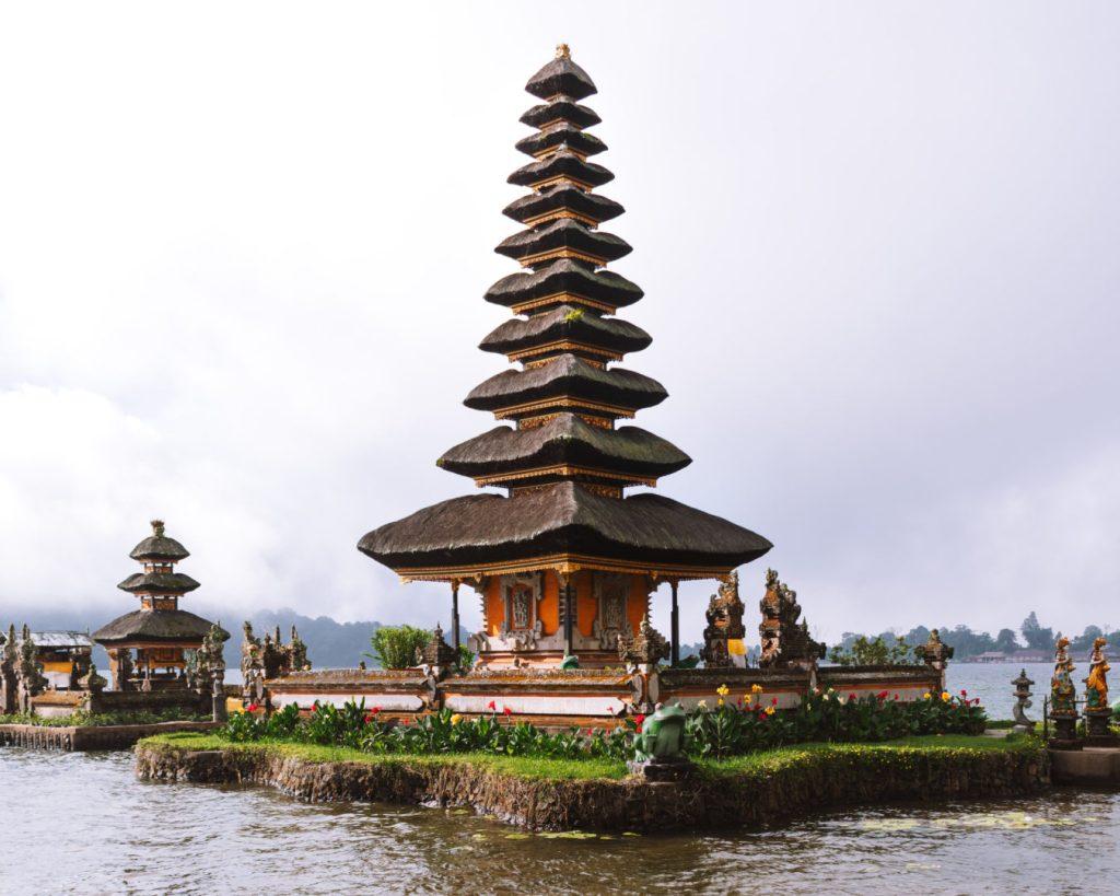 Ulun Danu Beratan Temple Munduk Bali