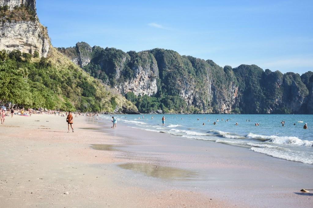 Ao nang main beach