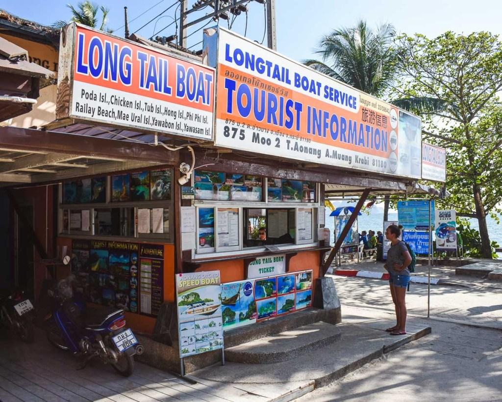Tourist information centre Ao nang