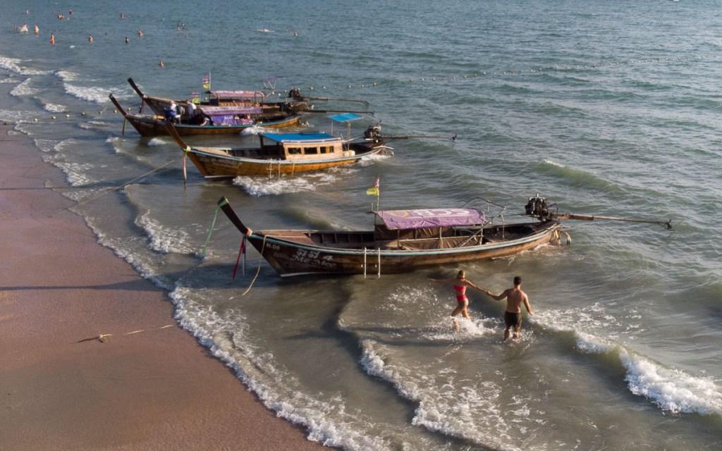 Ao Nang longtail boats