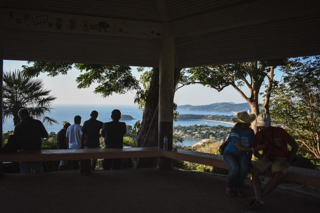Karon viewpoint shelter