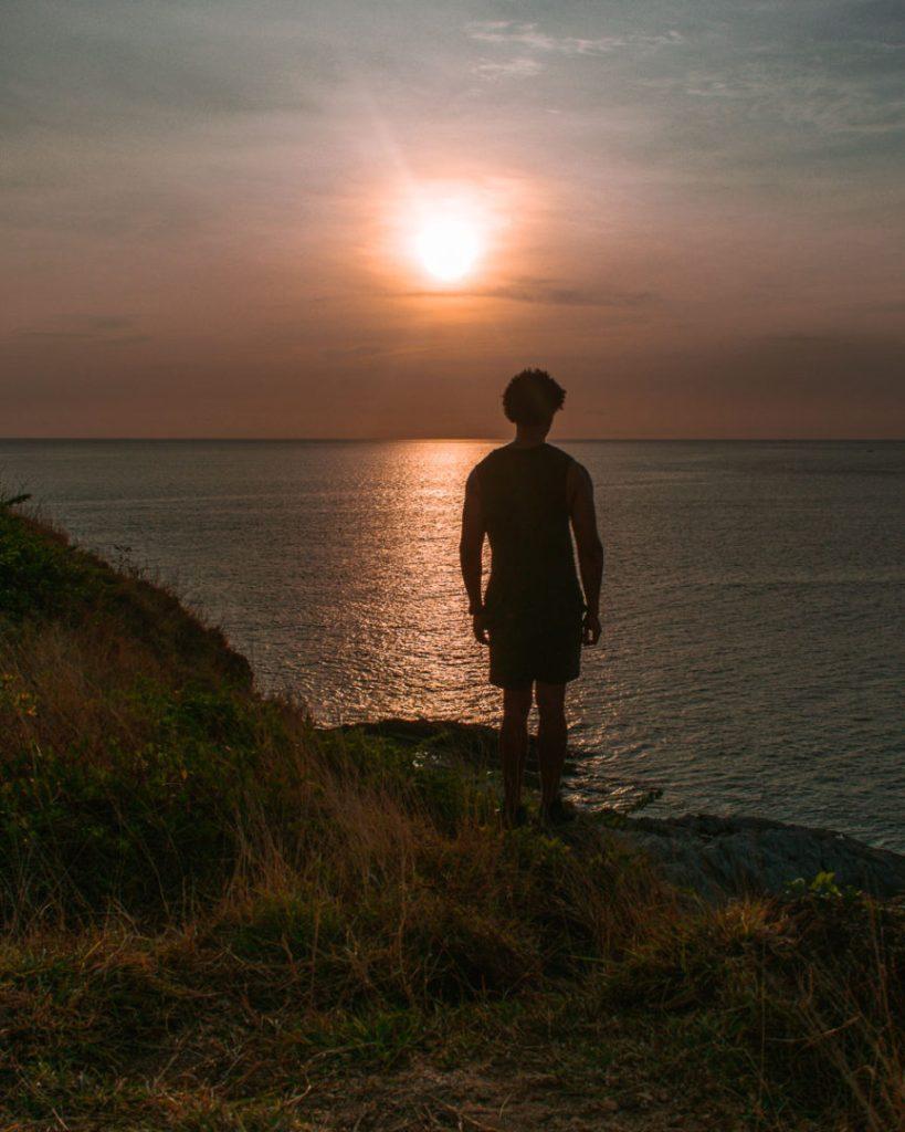 Promthep cape sunset view phuket