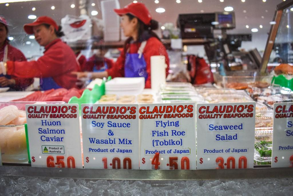 Fish market prices