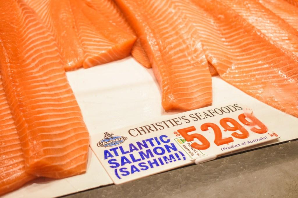 Atlantic Salmon Sashimi