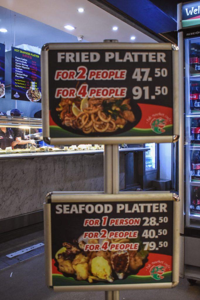 fried platter menus
