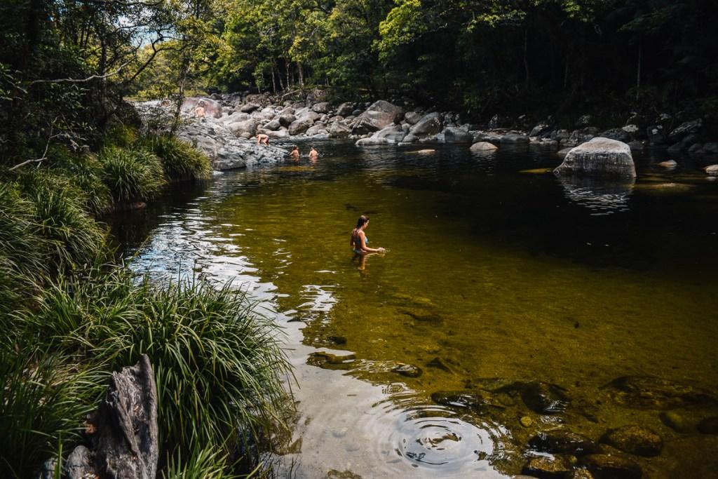 Mossman gorge swimming