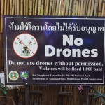 drone rules in thailand and fines
