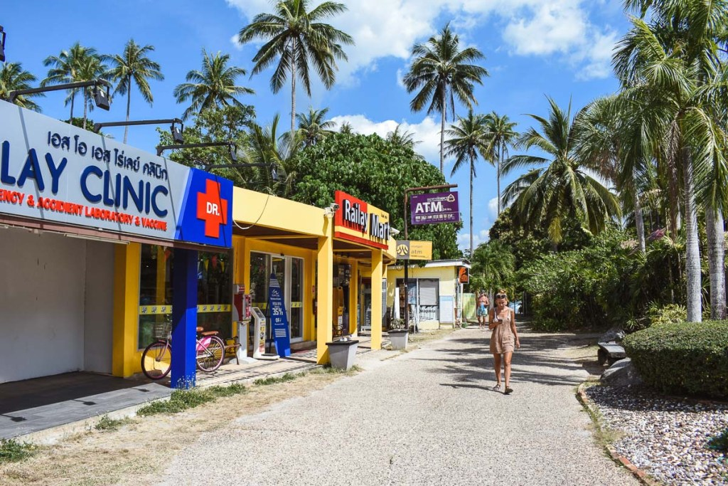 Railay mart and ATM
