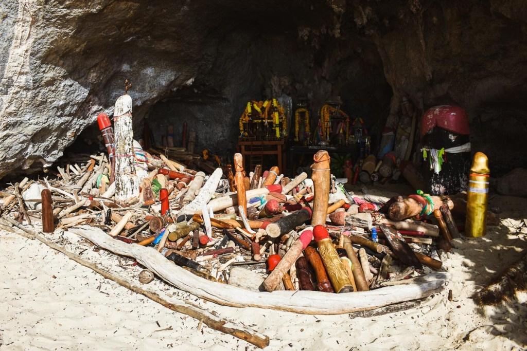 phra nang cave penis shrine