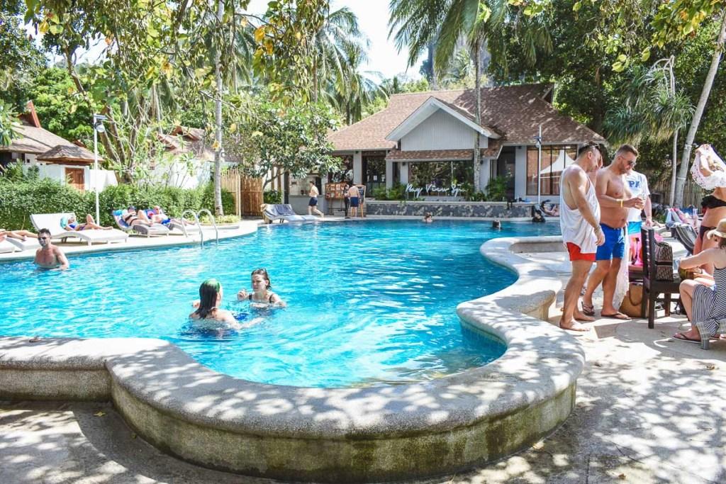 west railay pool