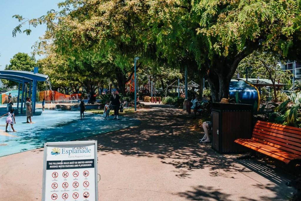 Cairns esplanade children playground