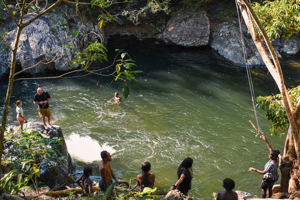 The Crystal Cascades Swimming Hole Cairns