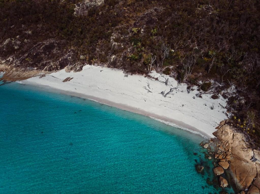White beaches Whitsundays