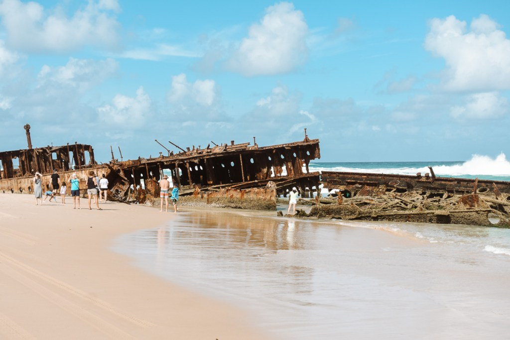 What to expect at the Fraser Island shipwreck