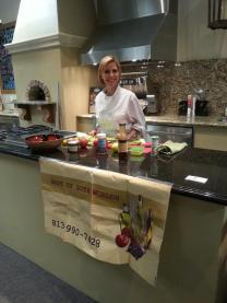 Adrienne Falcone Godsell nutritionist healthy grilling