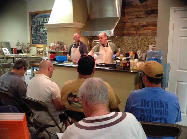 cooking class demo