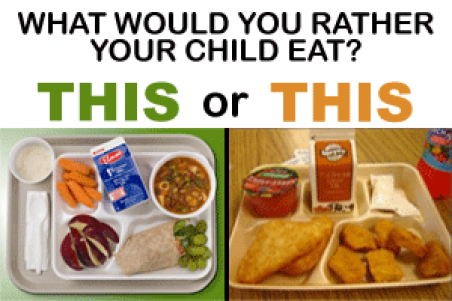 school meals choice