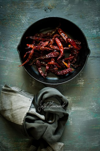 Roasted Red Chillies