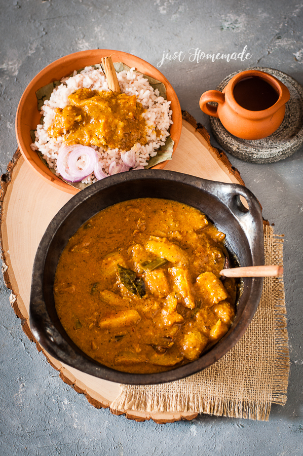 Srilankan Ambarella Curry | Roasted Curry Powder