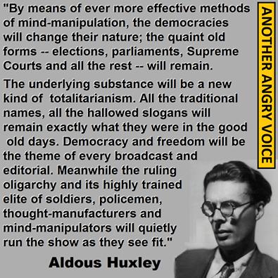 Aldous Huxley quotations