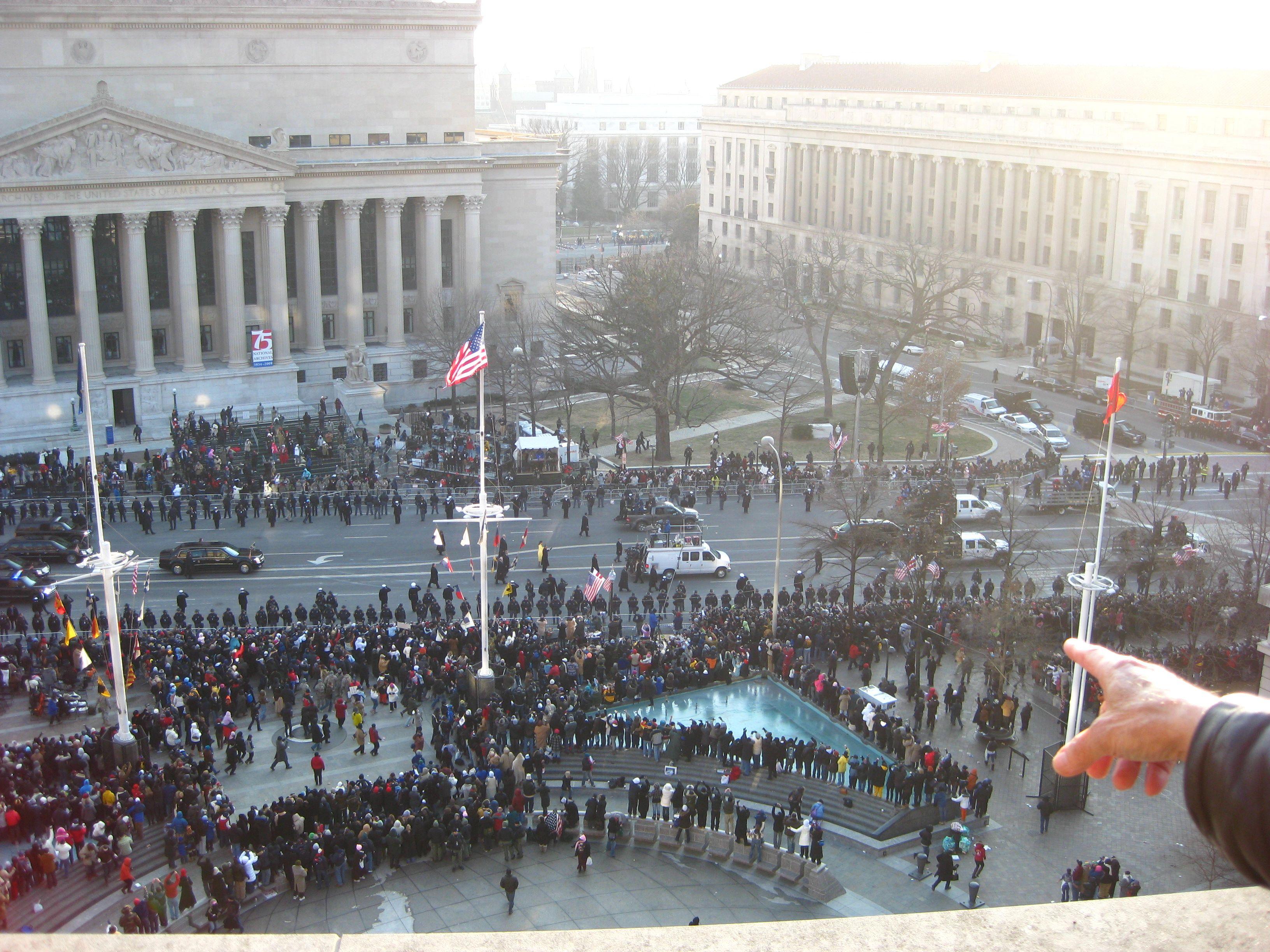 Obama Inaugural Photo
