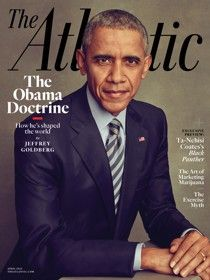 "President Obame ""The Obama Doctrine"" April 2016 Atlantic cover"