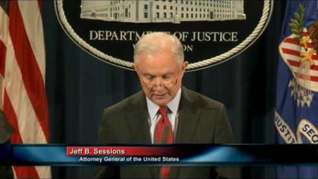 Embedded thumbnail for Attorney General Sessions on Efforts to Reduce Violent Crime