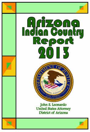 2013 Arizona Indian Country Report